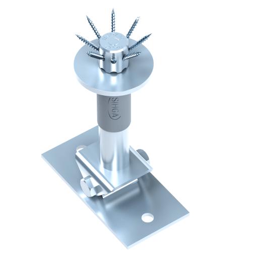 Reguliuojamo aukščio kolonų atramos IdeFix STF 336