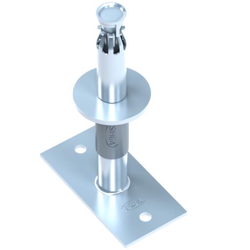 Reguliuojamo aukščio kolonų atramos ZaFix STZ 330