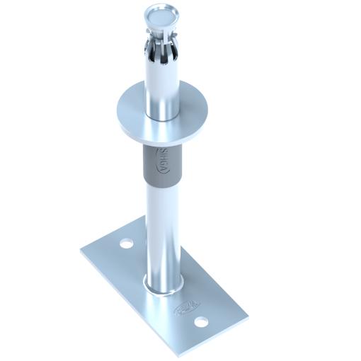 Reguliuojamo aukščio kolonų atramos ZaFix STZ 333