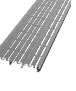 Aliuminio Profilio Drenažo Grotelės TerrassenFix Aqua